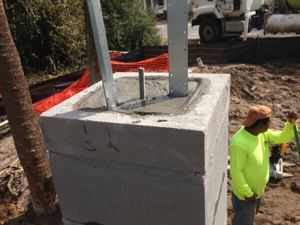 Residential Foundation Column