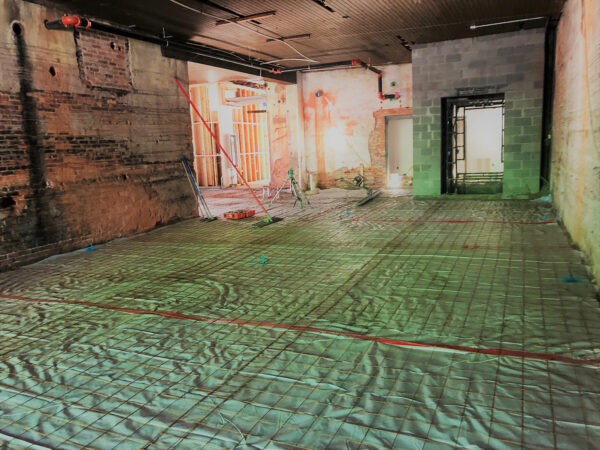 El Thrifty Building Interior Slab
