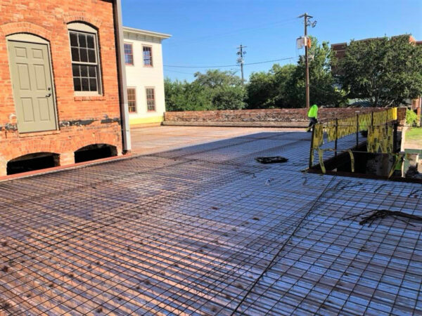 El Thrifty Building Mezzanine Slab Pour
