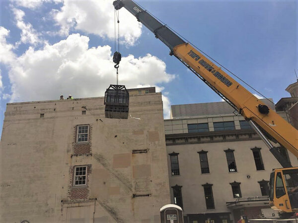 Savannah Law School Crane Lifting Block