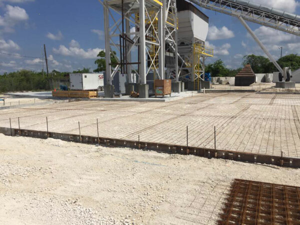 Concrete Plant Paving